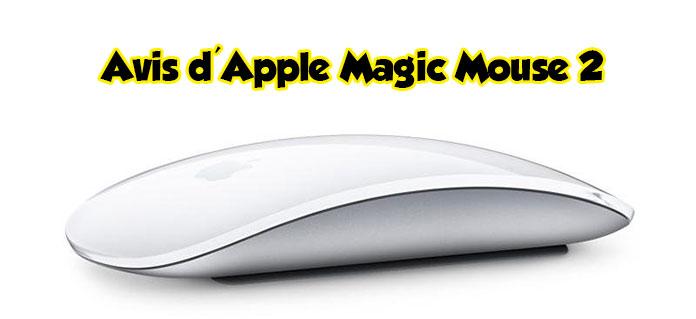 Avis d'Apple Magic Mouse 2
